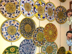 La ceramica artigianale d 39 arte dei fratelli dimino a sciacca for Arte arredi sciacca